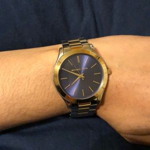 Michael Kors silver/gold watch
